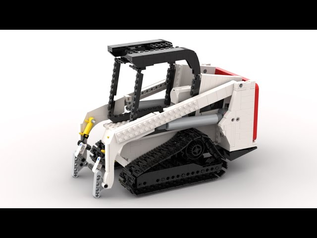 Building a Bobact T450 Compact Trackloader| -pneumatics and more! [6]