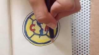 How To Draw Ca America Logo