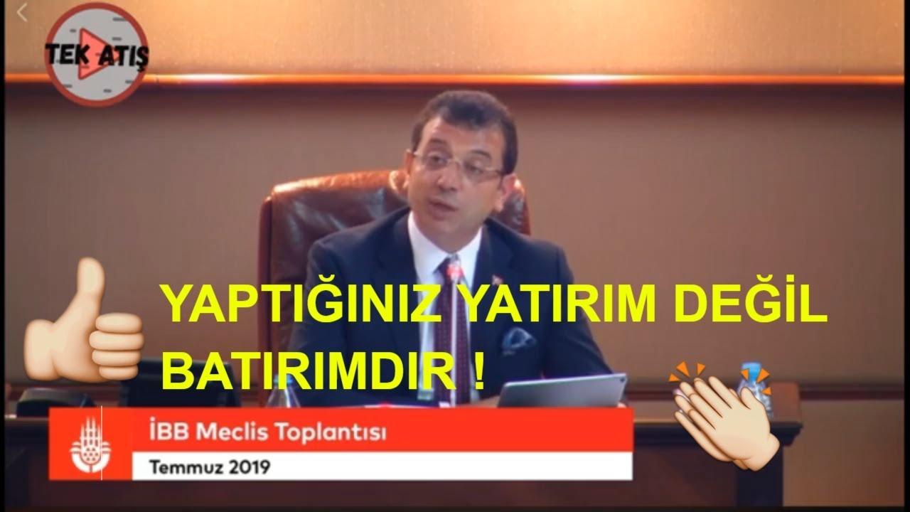 EKREM İMAMOĞLU BELEDİYE MECLİSİ (İBB) AÇIKLAMASI EKONOMİ!!