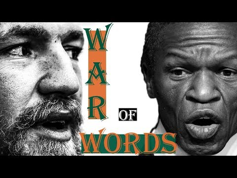 Floyd Mayweather SR WAR of Words Conor McGregor - Cinematic 13 Camera Angle Video