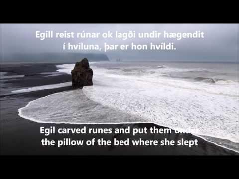 Faun - Egil Saga Lyrics in Norrønt Norse / Icelandic & English
