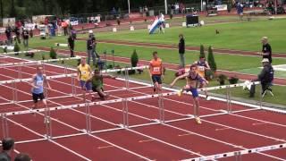 2013 NK Junioren Eindhoven, 110m h JB, serie 2
