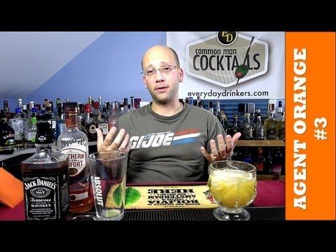 Agent Orange #3 Cocktail Recipe, HOW-TO