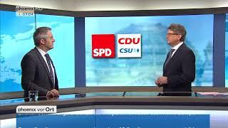 Frank Decker zu den Sondierungsgesprächen von CDU/CSU und SPD am 08.01.18