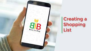 Best In Bag : Creating a Shopping List