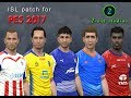 ISL18 patch for PES 2017 - New teams, logos, kits