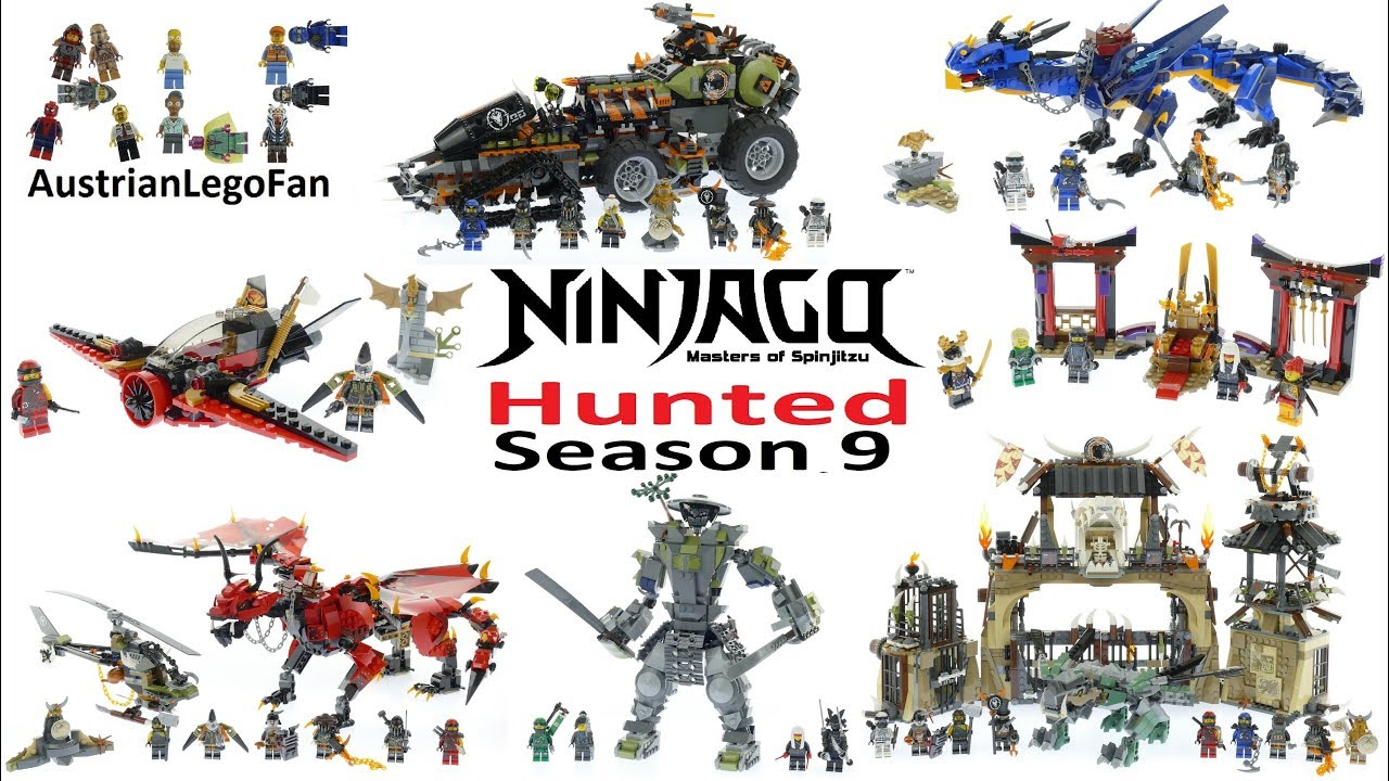 d5cfd91823926 All Lego Ninjago Season 9 Hunted Sets Summer 2018 - Lego Speed Build Review