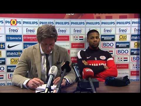 Verklaring Marcel Brands (PSV) over gedrag Jeremain Lens