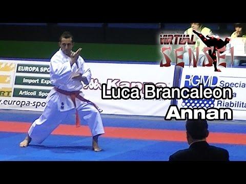 Luca Brancaleon - Kata Annan - FINAL - Italian Kata Championships Ostia 2014