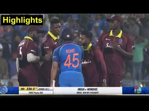 HIGHLIGHTS Ind vs WI 1st ODI: India Win by 8 Wickets | Headlines Sports