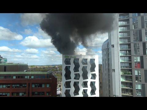 Major fire breaks out at Ibis Hotel in Ealing, London