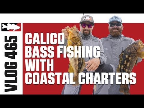 Fishing Calico Bass With Coastal Charters In Southern California –Tackle Warehouse VLOG #465