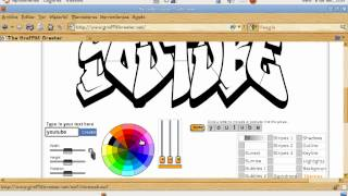 Como poner tu nombre en graffiti