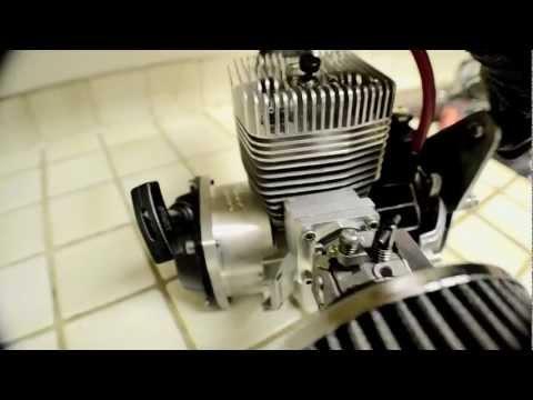 Fully built Zenoah g62 60cc 14+HP GSR Trevor Simpson 15:1 reed valve motor, goped standup bike