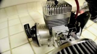fully built zenoah g62 60cc 14 hp gsr trevor simpson 15 1 reed valve motor goped standup bike