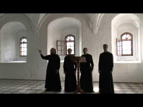 ☦ ХРИСТОС ВОСКРЕСЕ – Византийский распев ☦ В исполнении Хора Александра–Свирского мужского монастыря