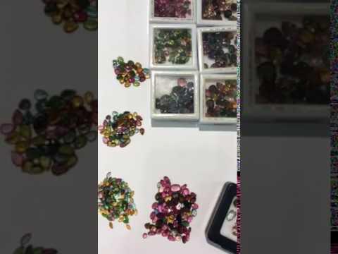 【凱兒寶石】天然碧璽無處理 巴西產 裸石切割任何尺寸顏色皆可使用問與答詢問請以實際價格下標 另售紅藍寶祖母綠丹泉石沙佛萊