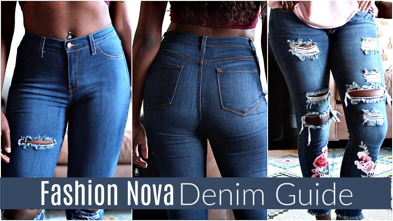 Fashion Nova Jean Size Review