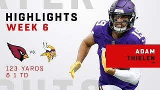 Another Big Game for Adam Thielen vs. Cardinals