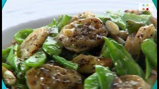 Stir Fried Lotus Root With Black Pepper | Go Healthy | Chef Sanjeev Kapoor | FoodFood
