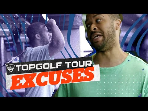 WORST Topgolf Excuses Ft. Scooter Magruder