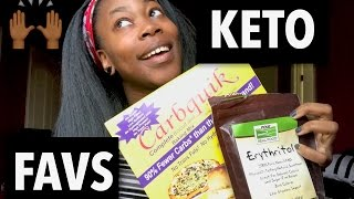 MY FAVORITE KETO/LOW CARB ITEMS!!