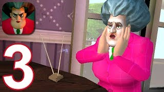 Scary Teacher 3D - Gameplay Walkthrough Part 3 - The TV Villian