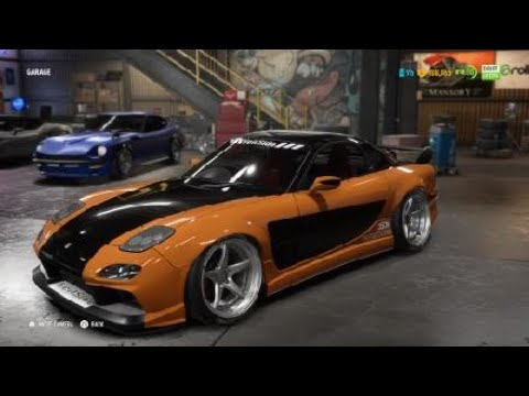 Need For Speed™ Payback Han's RX7 Copy