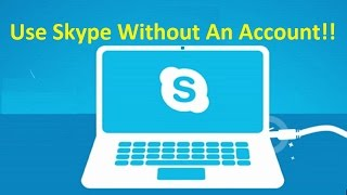 Use Skype Without An Account!! - Howtosolveit