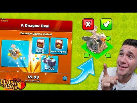 I BOUGHT THE NEW DRAGON!.. Waste Of Money? (Clash Of Clans)