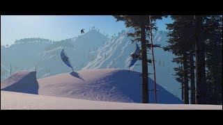 The Snowboard Game - Easy Riding