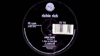 Richie Rich - Salsa House (Silver on Black Mix)