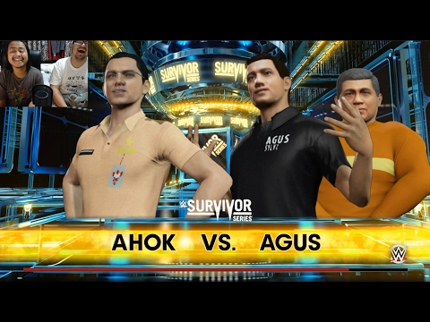 AHOK VS AGUS - WWE 2K16 INDONESIA