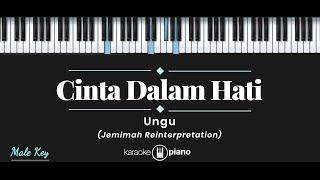 Cinta Dalam Hati - Jemimah Reinterpretation (KARAOKE PIANO - MALE KEY)