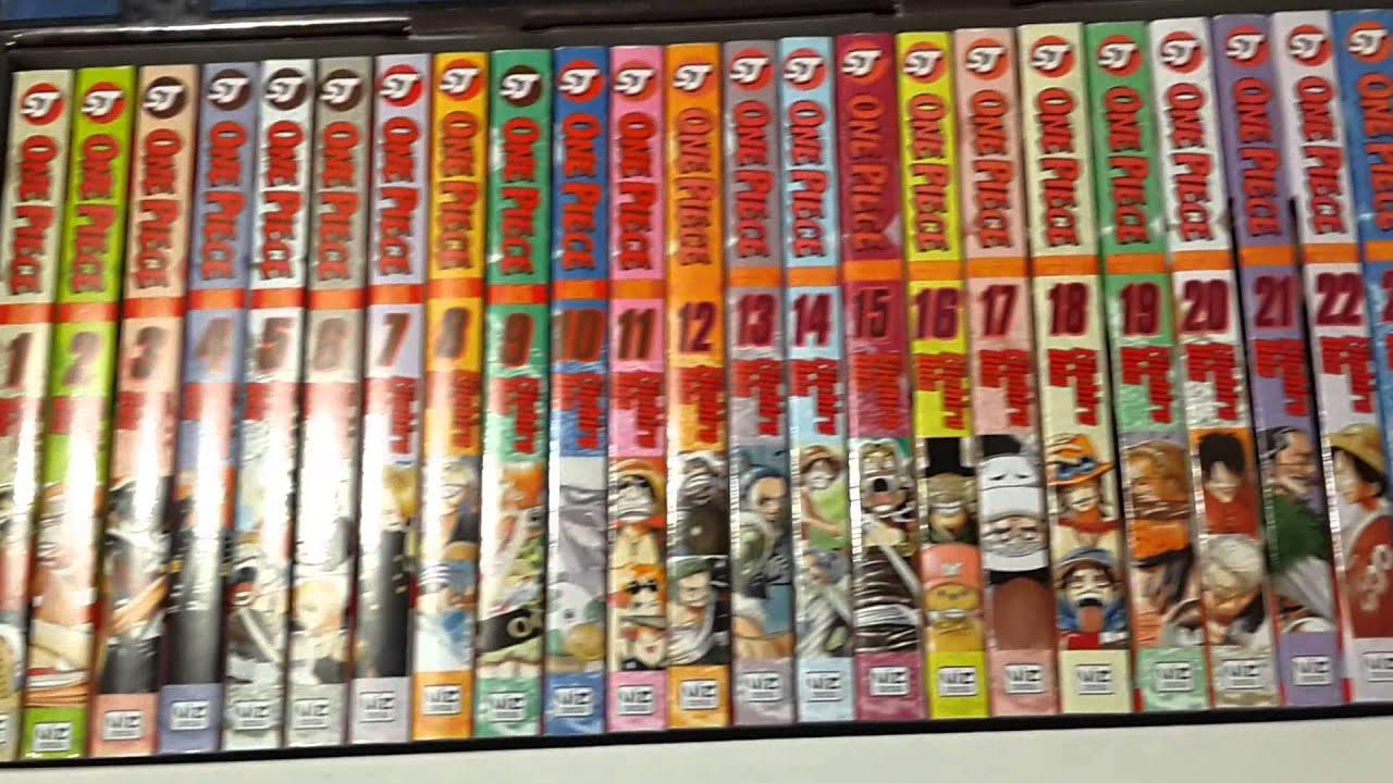 Unboxing One Piece Manga Boxset