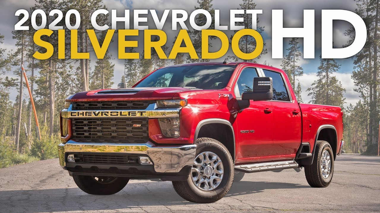 2020 Chevrolet Silverado 2500HD Review - First Drive - YouTube