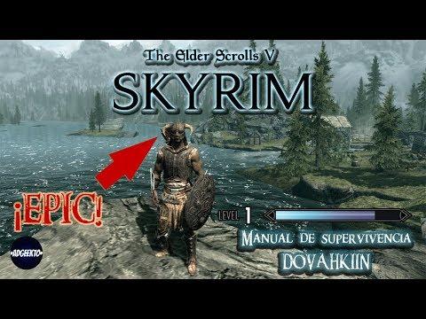"""Guia y Trucos The Elder Scrolls V: Skyrim PT.1 """"LO BASICO"""" - Adgeekto"""