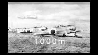 日本陸軍 中島飛行機 二式単戦(鍾馗)キ-44の飛行音