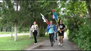 РУССКАЯ ПРОБЕЖКА на день города в Лебедяни 21 июля 2013 года