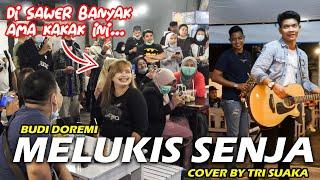 Melukis Senja Budi Doremi Cover By Tri Suaka MP3