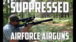 AirForce Airguns TalonP Pistol Supressor with the NEW DonnyFL Adapter