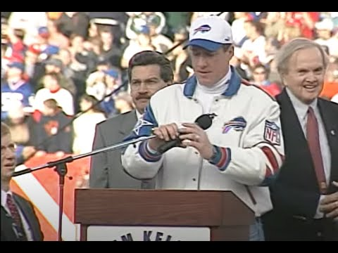 Jim Kelly Wall of Fame Ceremony
