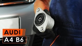 Как се сменя Свързваща щанга на AUDI TT (8J3) - видео ръководство
