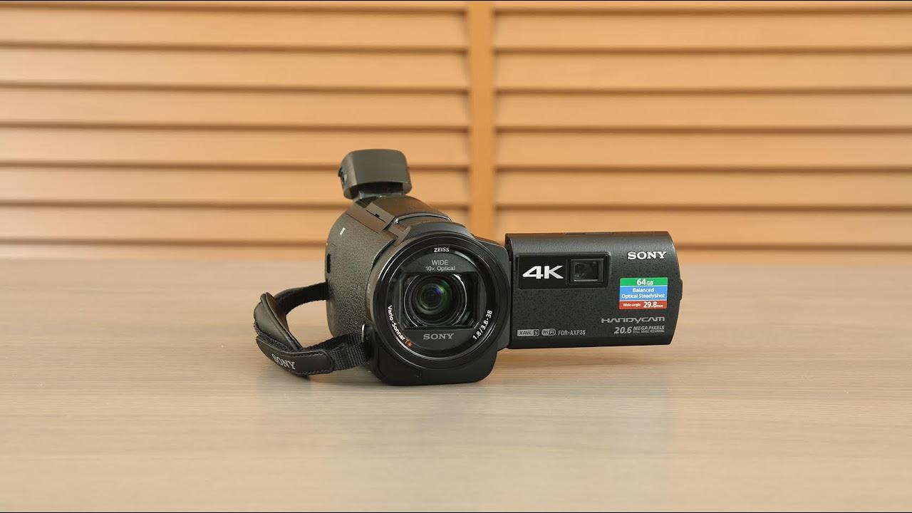 Sony FDR-AXP35 4K video kamera incelemesi
