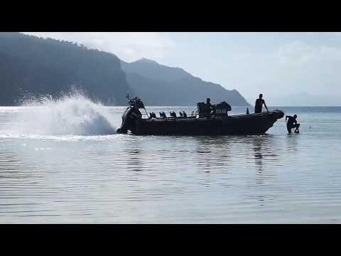 Military Boat in Mantabuan