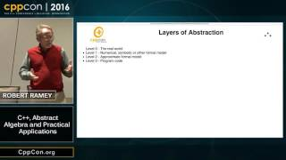 """CppCon 2016: Robert Ramey """"C++, Abstract Algebra and Practical Applications"""""""