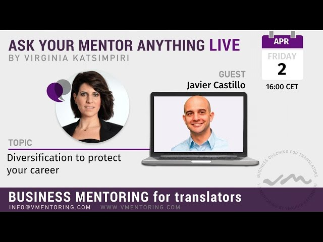 Ask Your Mentor Anything Live with Virginia Katsimpiri FT. Javier Castillo