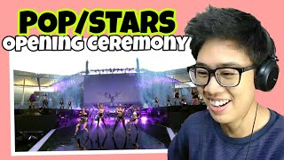 K/DA - POP/STARS (ft Madison Beer, (G)I-DLE, Jaira Burns) OPENING CEREMONY REACTION