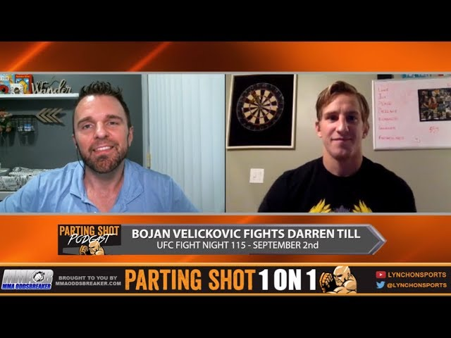 UFC Fight Night 115's Bojan Velickovic doesn't care about Darren Till's undefeated record