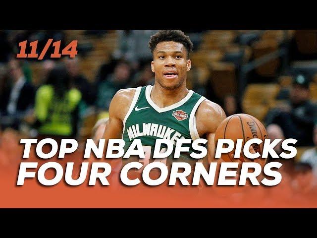 TOP NBA DFS PICKS THURS 11/14 - FOUR CORNERS - Sponsored by Superdraft - Awesemo.com
